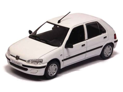 norev peugeot 106 electric 5 doors 1997 1 43 ebay