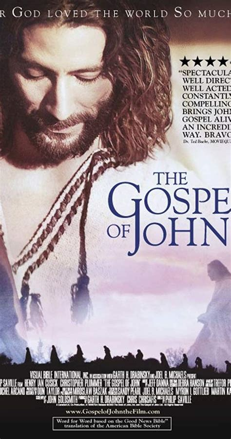 The Visual Bible The Gospel Of John 2003 Imdb