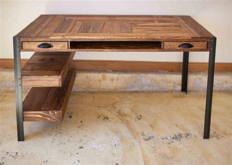 Wood Desk Ideas Pallet Desk Ideas Pallet Ideas Recycled Upcycled Pallets Furniture Projects