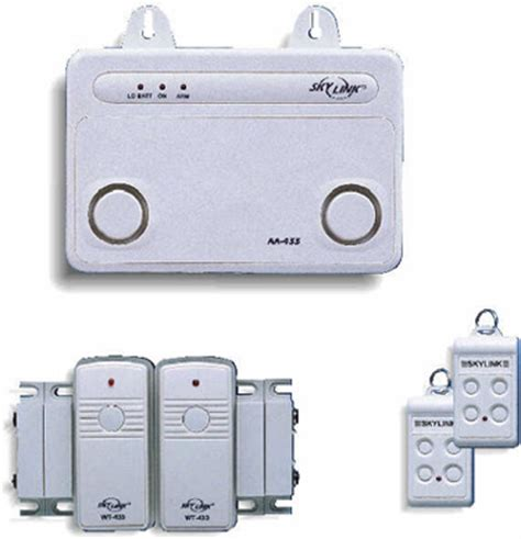 skylink sc 10 wireless home security system basic kit
