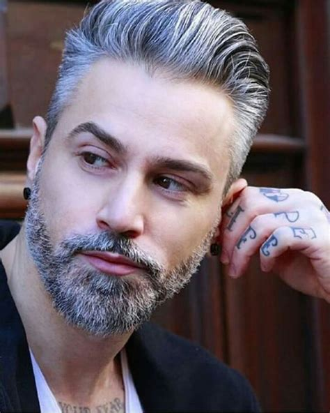 grey haired actor with mustache best 25 grey beards ideas on pinterest thick beard