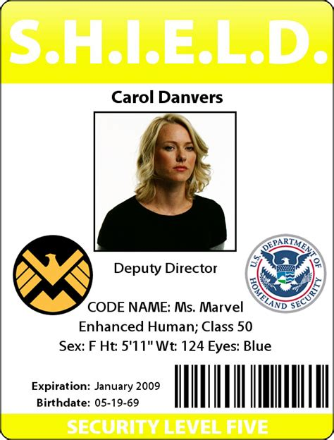 shield id card template id badge charloft walking against the