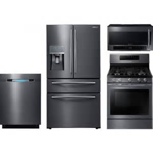 samsung 4 kitchen package with nx58j7750sg gas range