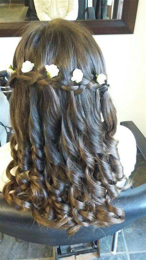 cute hairstyles for first communion the 25 best ideas about first communion hair on pinterest