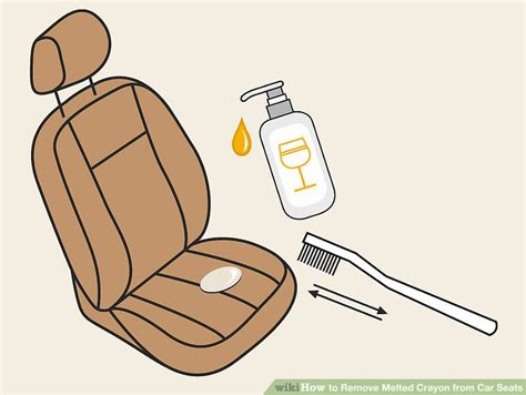 how to get melted crayon out of car upholstery crayon stains fabulous common stains and how to remove