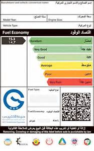 Fuel System Uae Cars In Uae To Fuel Efficiency Rating Next Year