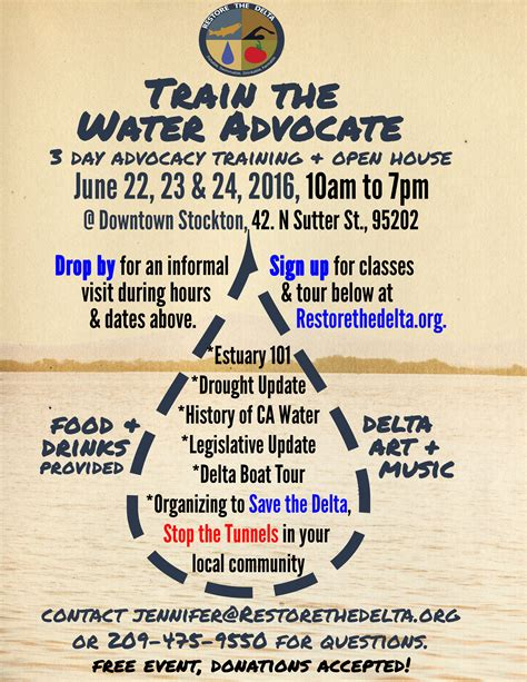 boat donation stockton ca train the water advocate restore the delta