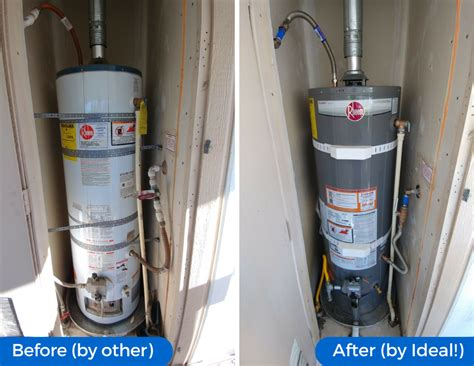 installation on mobile mobile home water heater installation