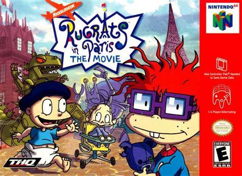 Rugrats In Paris The Movie Nintendo 64 Game