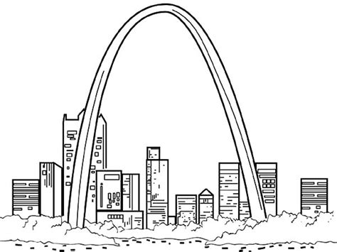 st louis cardinals logo coloring page with no copyright