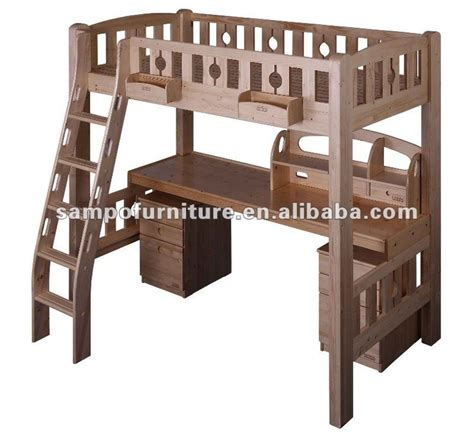 wooden bunk bed with desk and drawers wooden bunk beds with desk and drawers woodworking