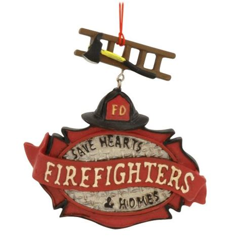 firefighter christmas ornaments unique christmas decorations