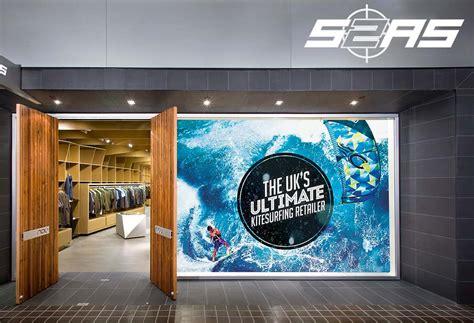 digital window videos surface 2 air sports shop window display azura design