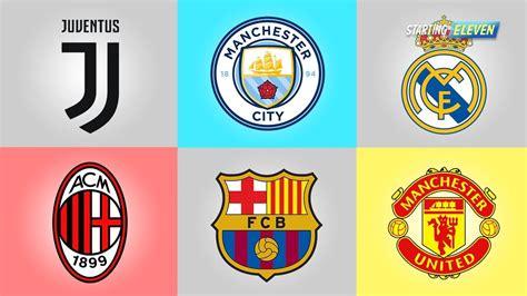 makna tersembunyi   logo klub sepak bola dunia