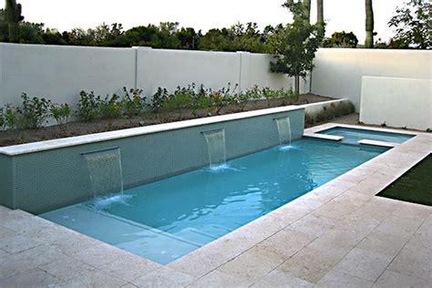 modern pools inground pool design modern pools
