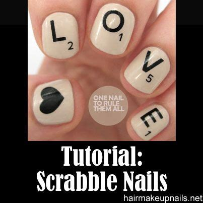 scrabble tutorial scrabble nails tutorial fitness