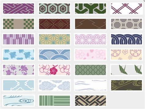 Japanese Pattern Generator | zakka life japonizer japanese background generator