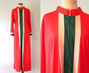Vanity Fair Robes 1970s Vanity Fair Robe Loungewear 70s White Green