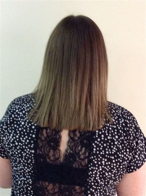 pics of 1inch below shoulder length hair 13 best images about one length below the shoulder square
