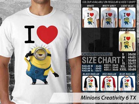 Kaos Family Minion kaos minions lucu unik kaos desain unik minions kaos anak gambar minions kaos