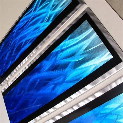 modern abstract metal wall painting sculpture home