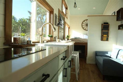 128 square foot tiny heirloom home offers rustic elegance tiny house town rustic tiny home by tiny heirloom