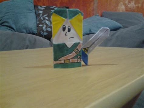 Origami Ocarina - link ocarina of time origami yoda