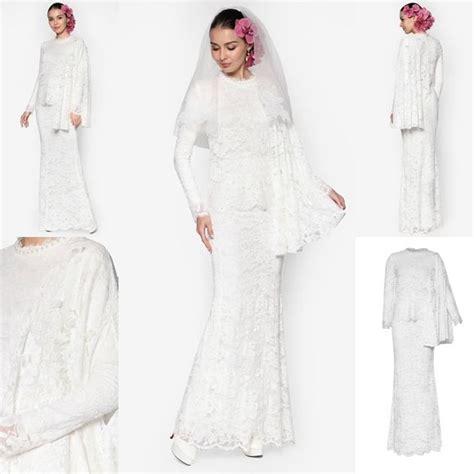 fesyen baju kebaya labuh baju pengantin terkini 2016 2017 rizalman bridalwear