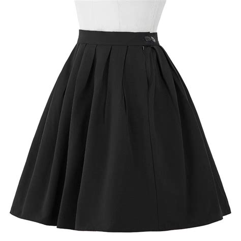 Midi Flare Skirt Pastel Limited pleated midi skirt summer high waist knee length office flared skirts womens faldas plus