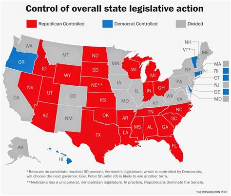 us map republican states politically speaking record gop dominance of state
