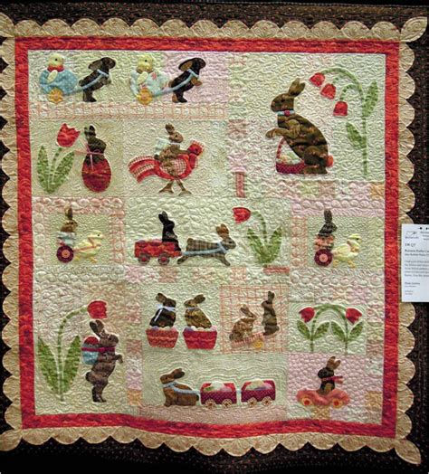 quilt pattern rabbit quilt inspiration a bevy of bunny quilts for easter