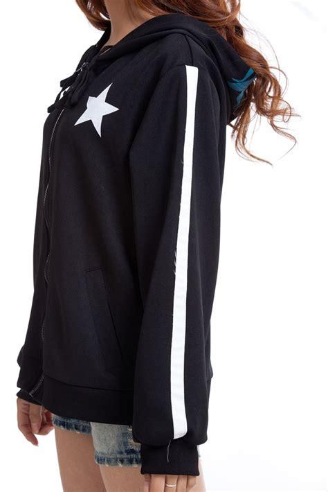 Sweater Hoodie Rock new black rock shooter anime hoodie costume sweatshirt sweater clothing ebay