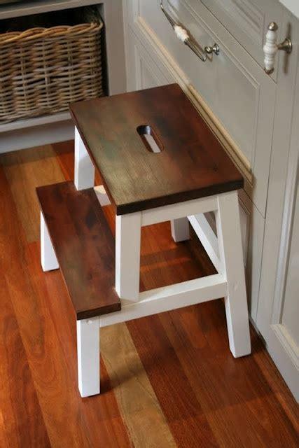 ikea hack farmhouse style step stool beatnik kids diy two step stool woodworking projects plans