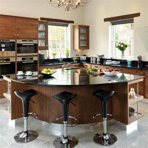 Walnut Kitchen Island by Take A Tour Around A Smart Walnut Kitchen Housetohome Co Uk