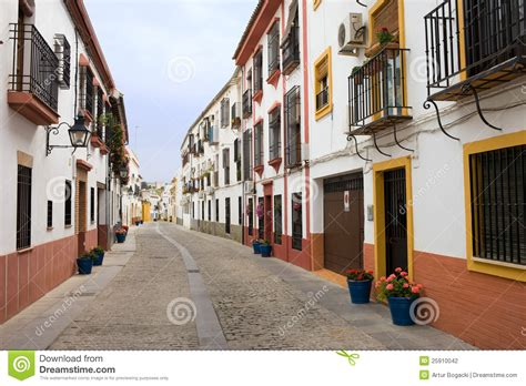House Plans European traditional houses in cordoba stock photography image