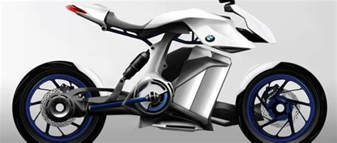 bmw bike concept fuel cell powered bmw bike concept revealed