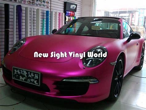 matte pink car premium matte satin pink metallic vinyl
