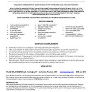 Solar Installer Sle Resume by Solar Panel Installer Resume Sales Installer Lewesmr
