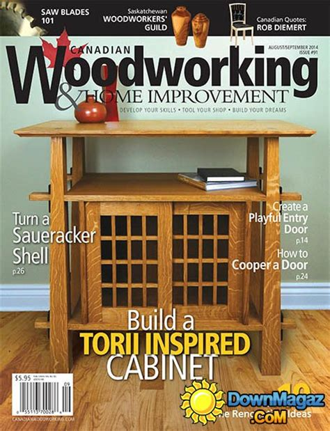 canadian woodworking home improvement  august
