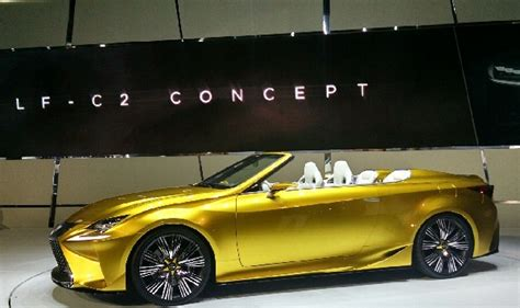 convertible lexus 2016 lexus convertible concept lf c2 is the 2016 is 350c