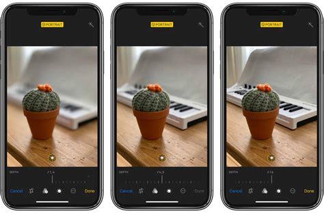 change background blur  iphone xs  xr