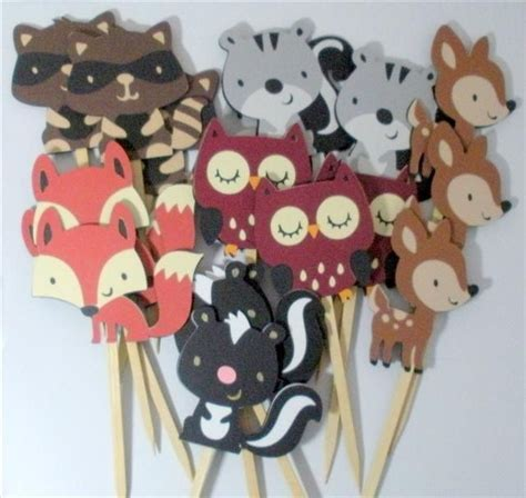 woodland creature birthday party ideas animal