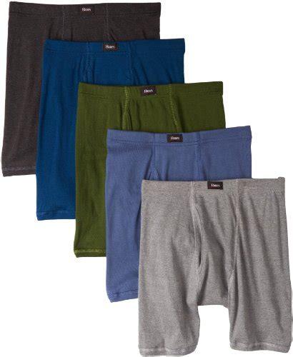 Hanes Men S 5 Pack Ultimate Comfort Soft Waistband Boxer