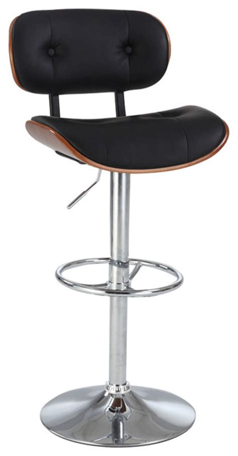 contemporary bar stools swivel tufted oversized pneumatic swivel stool contemporary