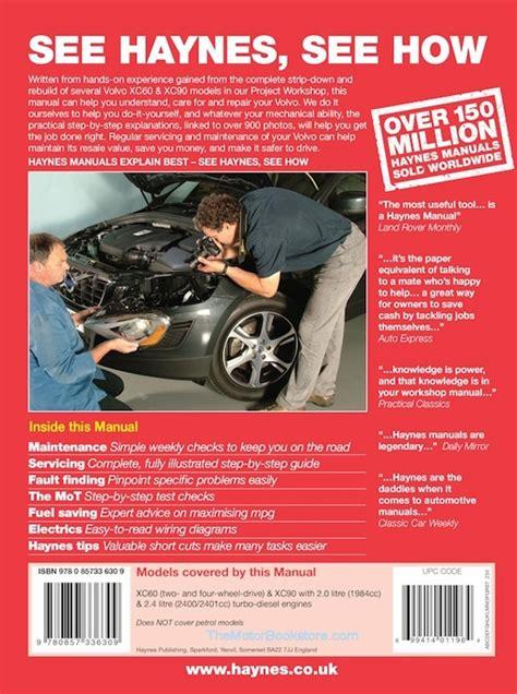 volvo xc xc diesel repair manual