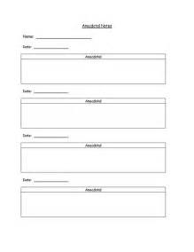 Anecdotal Template 25 best ideas about anecdotal notes on student data collection guided reading