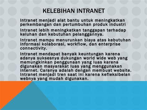 membuat website intranet pengertian internet dan intranet