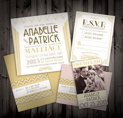 1920s wedding invitations ideas 70 best images about theme 1920 s great gatsby on