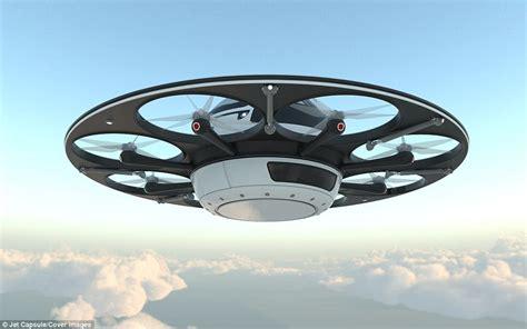 drone volante ufo drone seats two passengers and reaches 120mph 190kph