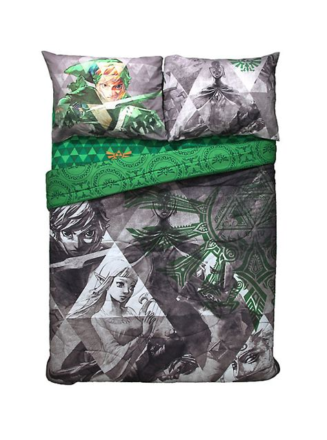legend of zelda bedding the legend of zelda skyward sword full queen comforter